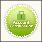 Account certification