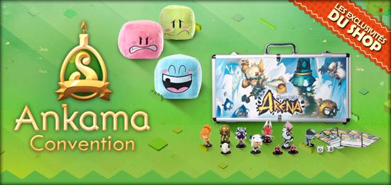 Ankama convention des avant premi res en magasin for Snouffle dofus