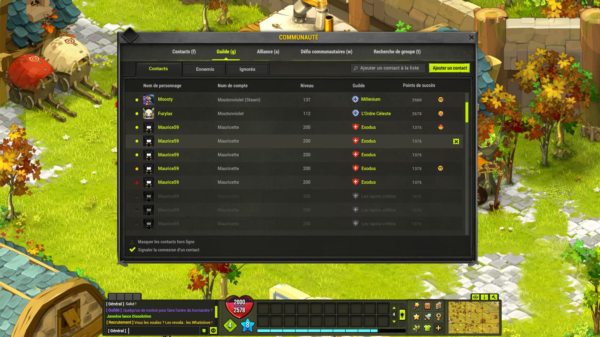 Refonte interface : Un jeu très épuré ! 05-community