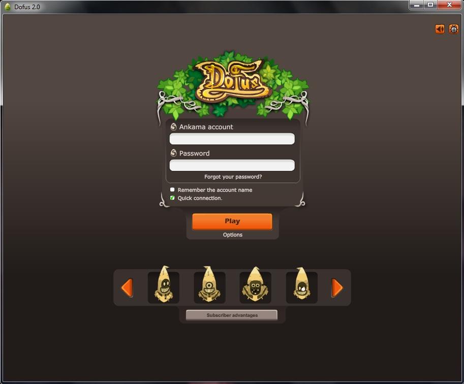 login to game