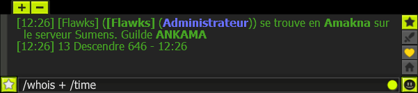Signaler un problème à la modération Ankama Whoistime