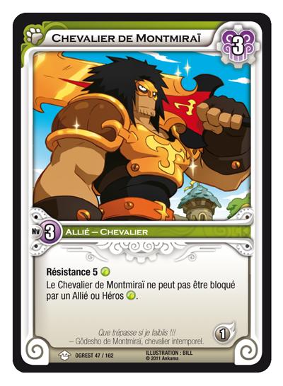 Chevalier de Montmirai